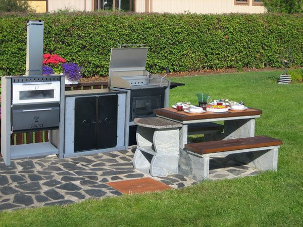 Oven-grill-cabinet